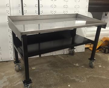 tables en acier